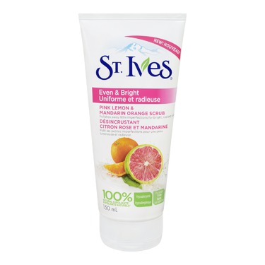 St. Ives Even & Bright Pink Lemon & Mandarin Orange Facial Scrub