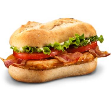 McDonald's McBistro Chicken BLT