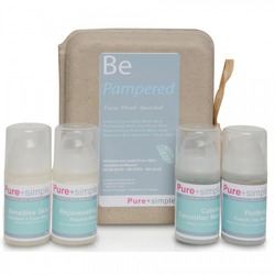 Pure+simple Be Pampered Face Mask Quartet
