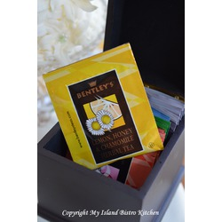 Bentley's Lemon, Honey & Chamomile Herbal Tea