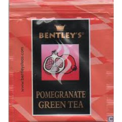 Bentley's Pomegranate Green Tea