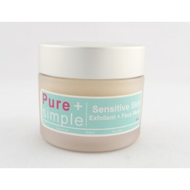 Pure+simple Sensitive Skin Exfoliant and Face Mask