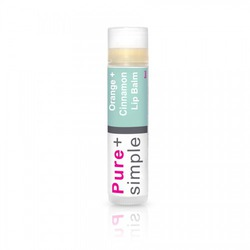 Pure+simple Lipbalm in Orange Cinnamon