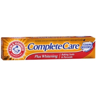 Arm & Hammer Complete Care Toothpaste Plus Whitening Baking Soda and Peroxide