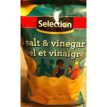 Selection Salt and Vinegar Chips