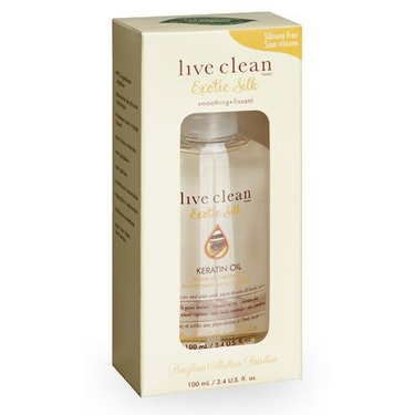 Live Clean Keratin Oil Leave In Treatment