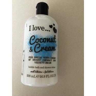 I love... Coconut & Cream Bubble Bath & Shower Creme