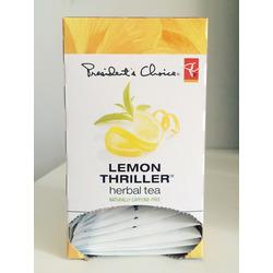 President's Choice Lemon Thriller Tea