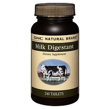 GNC Natural Brand Milk Digestant
