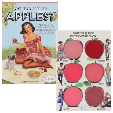 the Balm How 'Bout Them Apples? Cheek and Lip Cream