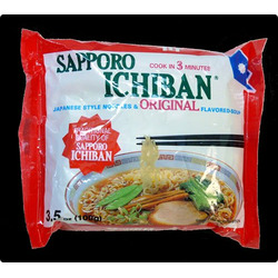 Sapporo Ichiban Japanese Noodles & Original Flavoured Soup