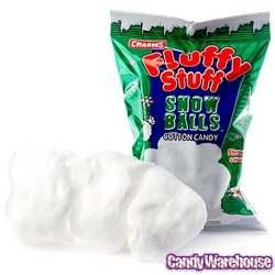 Charms Fluffy Stuff Snow Balls Cotton Candy