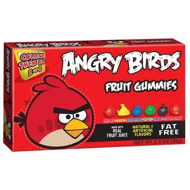 Angry Birds Fruit Gummies