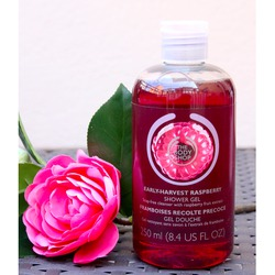Body Shop Early-Harvest Raspberry Shower Gel