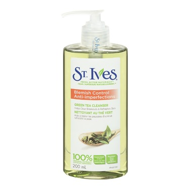 St. Ives Naturally Clear Green Tea Facial Cleanser
