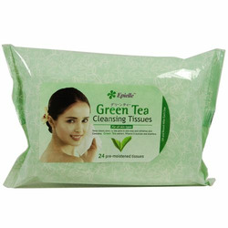 Epielle Green Tea Cleansing Tissues