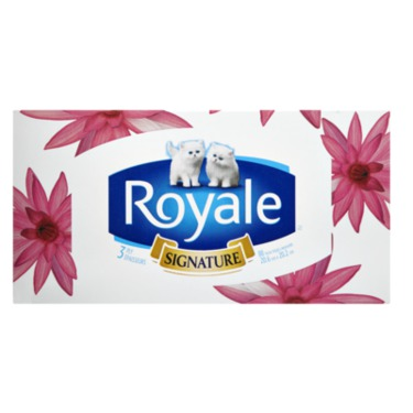 Royale Signature Facial Tissue 3 Ply