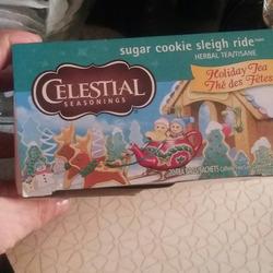 Celestial Seasonings Sugar Cookie Sleigh Ride Tea