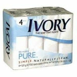 Ivory Pure Clean & Simple Original Soap Bar