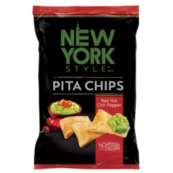 New York Style Pita Chips Red Hot Chili Peppers