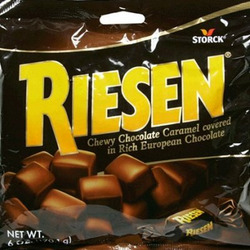 Riesen Chewy Chocolate Caramel Candies