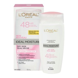L'Oreal Paris Ideal Moisture Day Lotion for Dry Skin