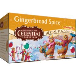 Celestial Seasonings Gingerbread Spice Herbal Tea