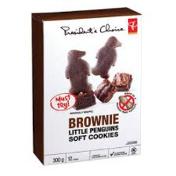 President's Choice Brownie Little Penguin Soft Cookies