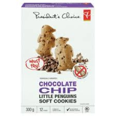 President's Choice Chocolate Chip Little Penguins Soft Cookies