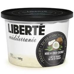 Liberte Mediterranee Yogurt — Coconut