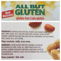 All But Gluten Peanut Butter Granola Bars