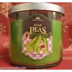 Bath & Body Works 3 Wick Candle Snap Pea