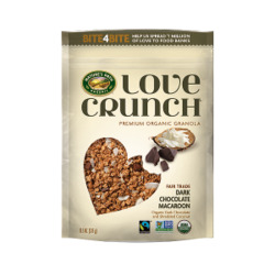 Love Crunch® Dark Chocolate Macaroon