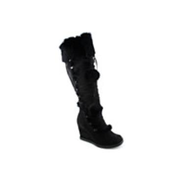 shiekh boots style #: ZEN-01 color:BLACK
