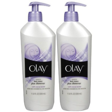 Olay Quench Daily Lotion Plus Shimmer
