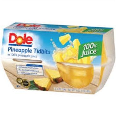 Dole Pineapple Tidbits