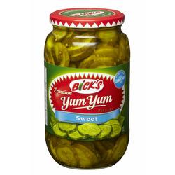 Bick's Yum Yum Sweet Pickles