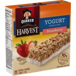 Quaker Yogurt Granola Bar in Strawberry