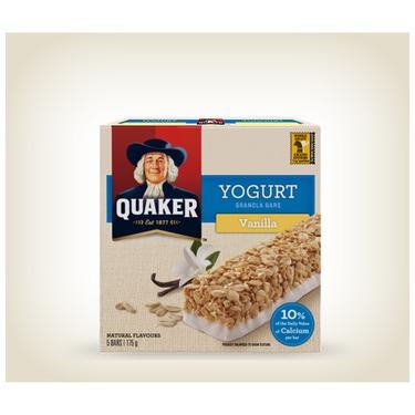 Quaker Yogurt Granola Bar - Vanilla