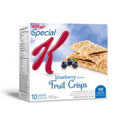 Special K Fruit Crisps in Blueberry