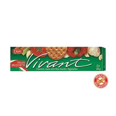 Dare Vivant Crackers — Italian Bruschetta