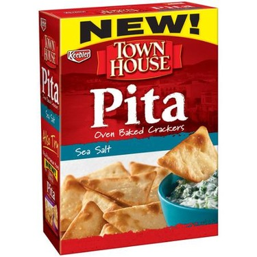 Town House Pital Oven Baked Crackers — Sea Salt