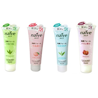 Kracie Naive Facial Cleansing Foam