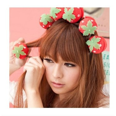Strawberry Hair Curlers
