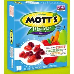 Mott's Medleys Berry Fruit Snack
