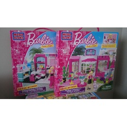 mega bloks barbie build 'n style pet shop