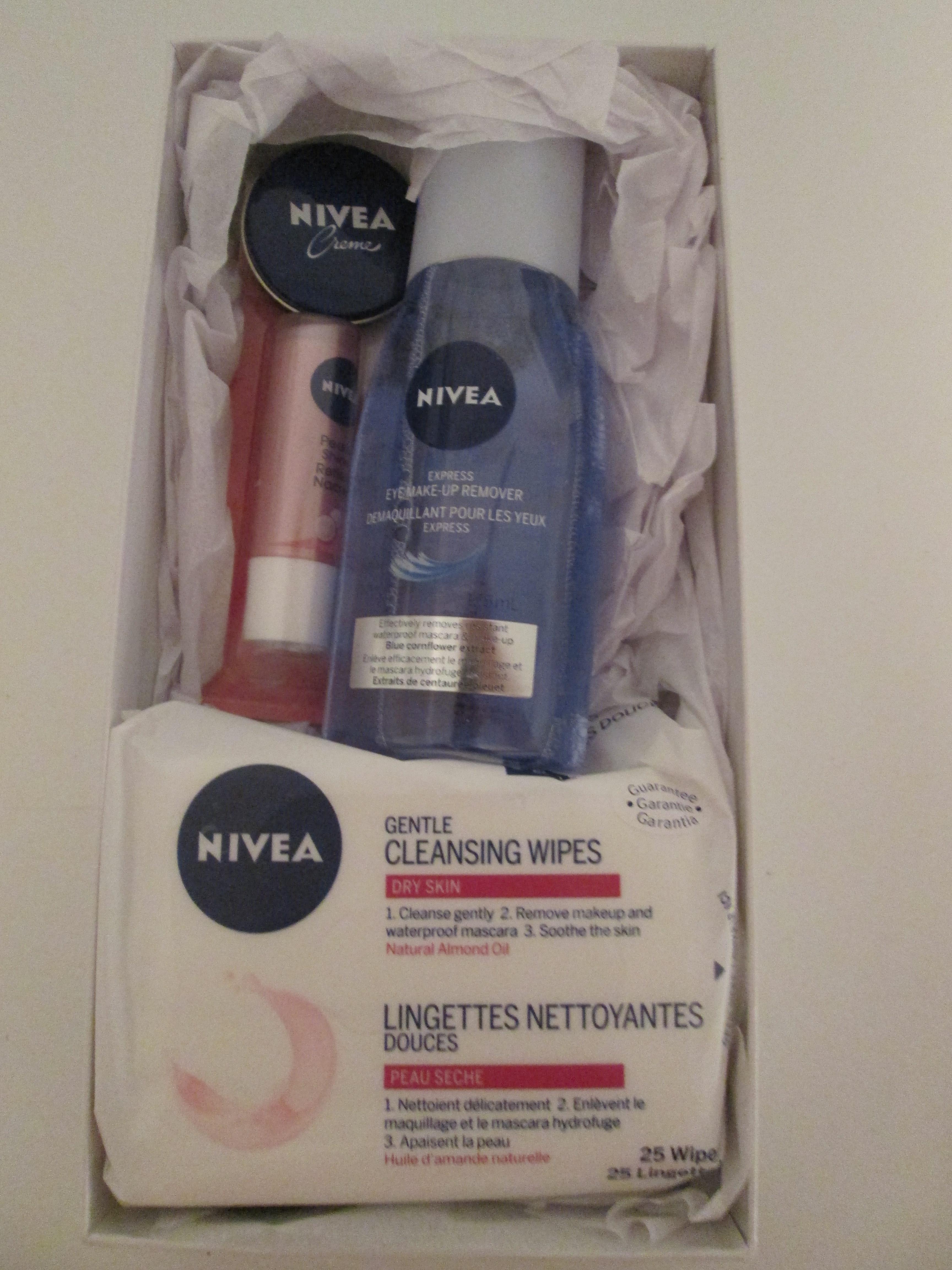 Nivea Double Effect Eye Makeup Remover Review Really Ree Of Nivea