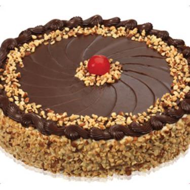 Baskin Robbins Praline 'n Cream Fudge Nut Round Cake