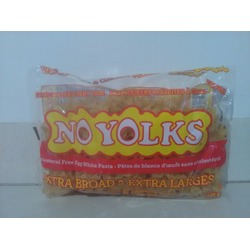 No Yolks Egg White Pasta