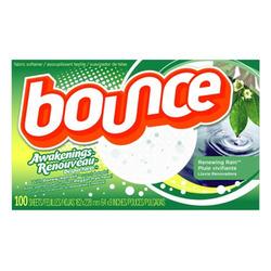 Bounce Awakenings Renewing Rain Fabric Softener Sheets
